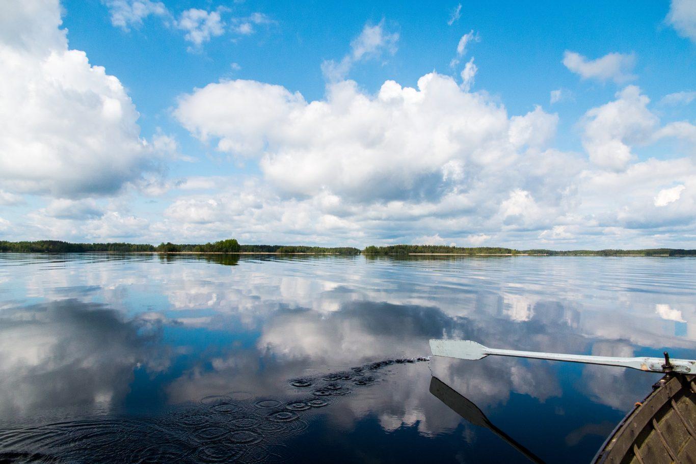 lago di saimaa - finlandia