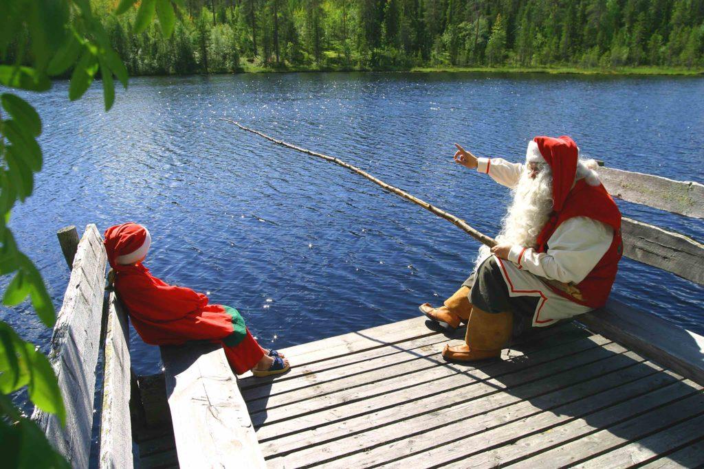 finlandia rovaniemi babbo natale