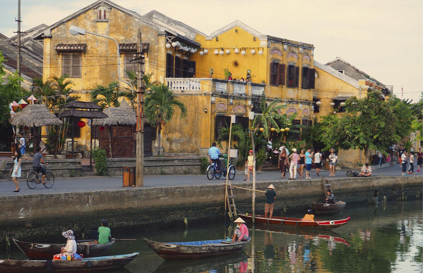 Le case della città Vecchia di Hoi An