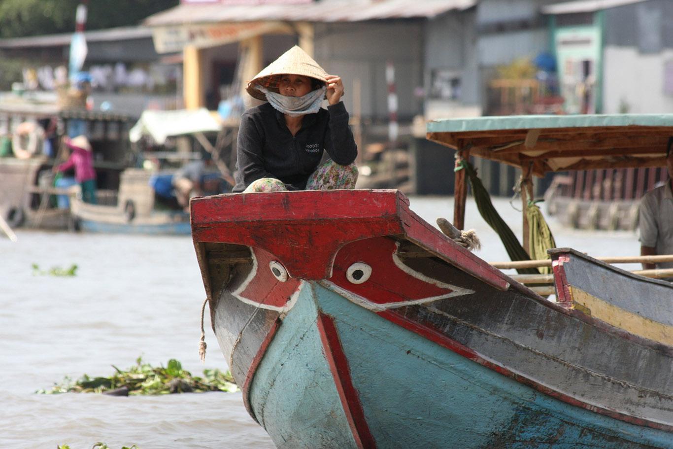 I mercati sul della del Mekong