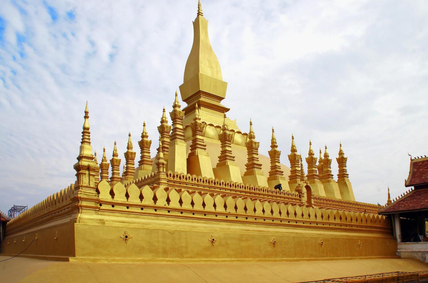 Vientiane Stupa dorato