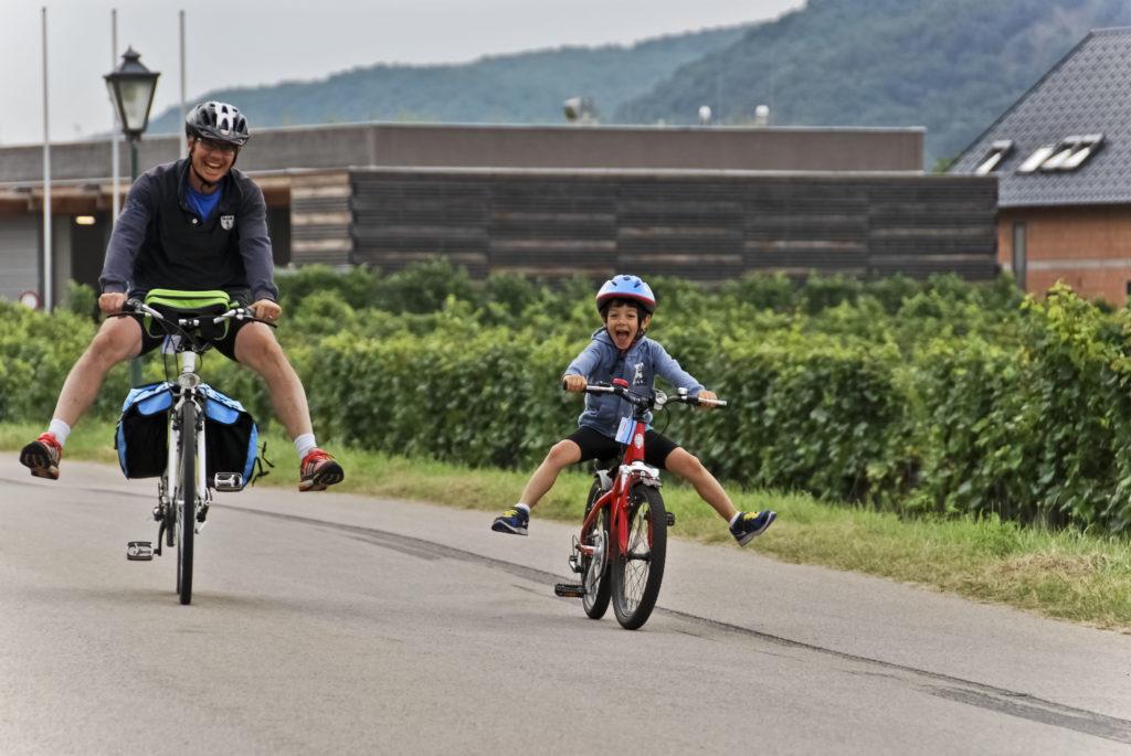 ciclabile del danubio in bici