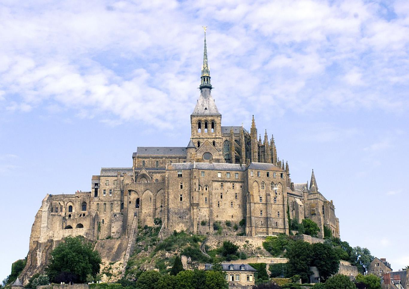 Il monastero di Le Mont Saint Michel