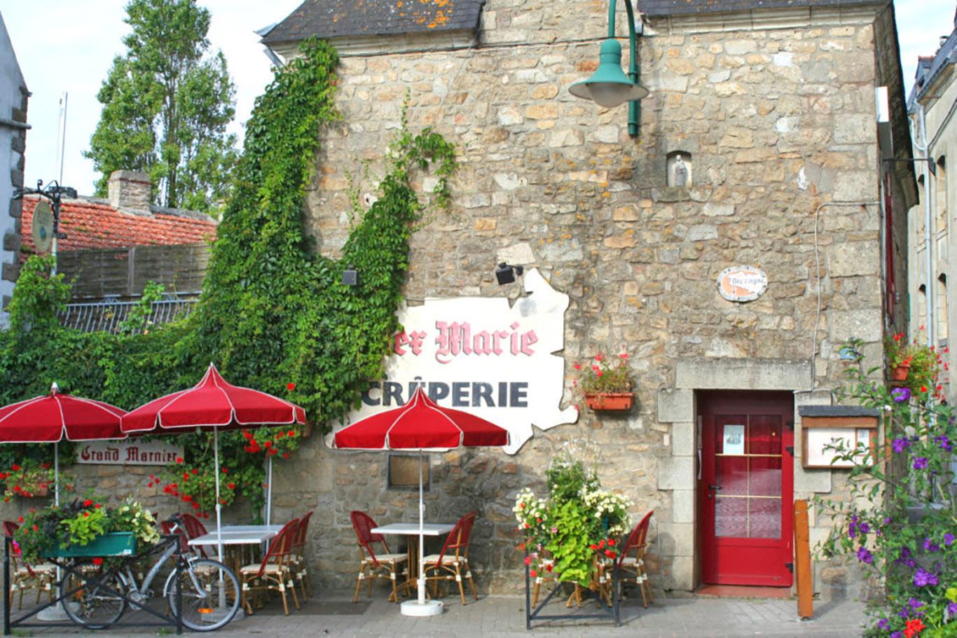 Una tipica casa bretone