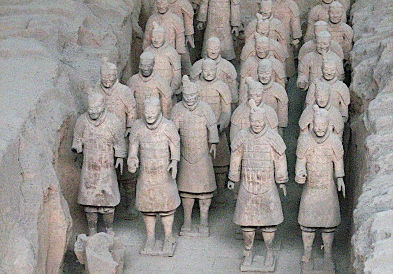 zeppelin esercito terracotta