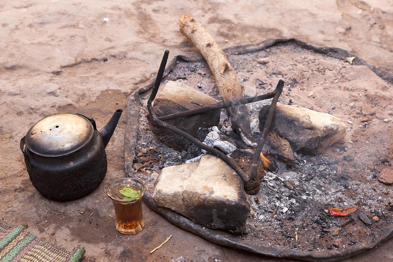 Tè alla menta aromatizzato alla salvia