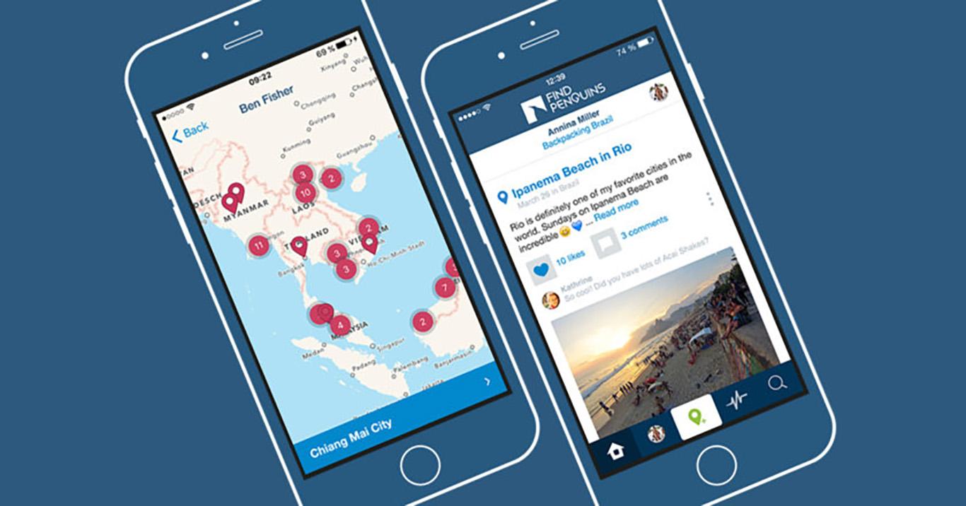 Findpenguins app