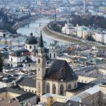 Vista sul Duomo di Salisburgo