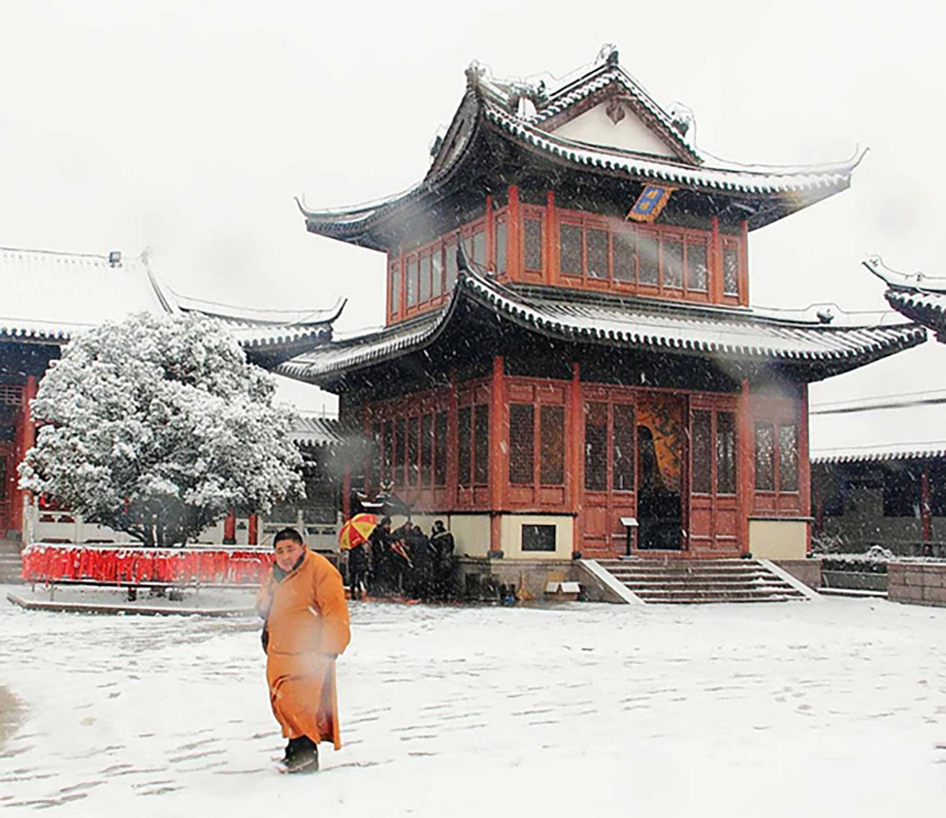 Tempio innevato- Pingyao