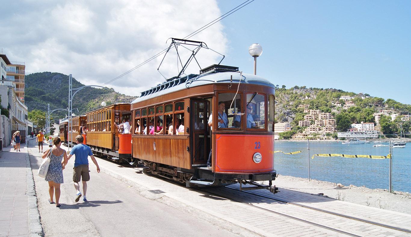 Il tram da Soller