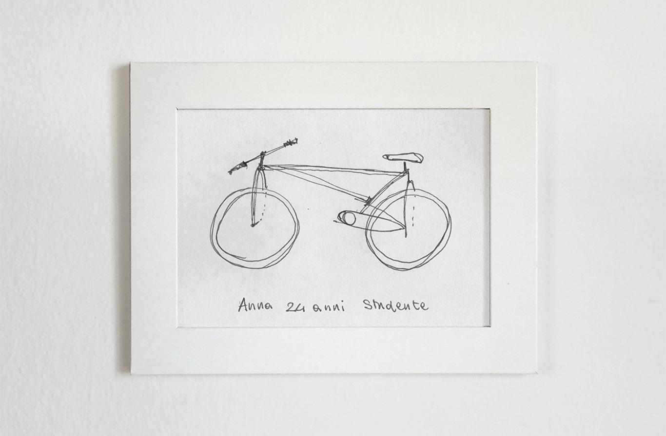 Ma Tu Sai Come Si Disegna Una Bici Happy To Be Here