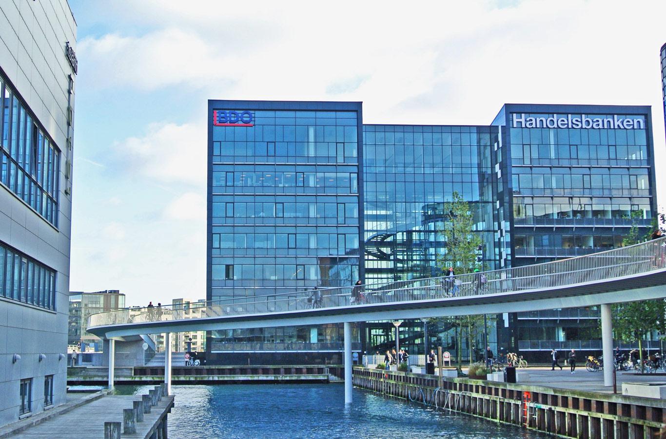 Copenaghen ponte ciclabile Cykelslangen