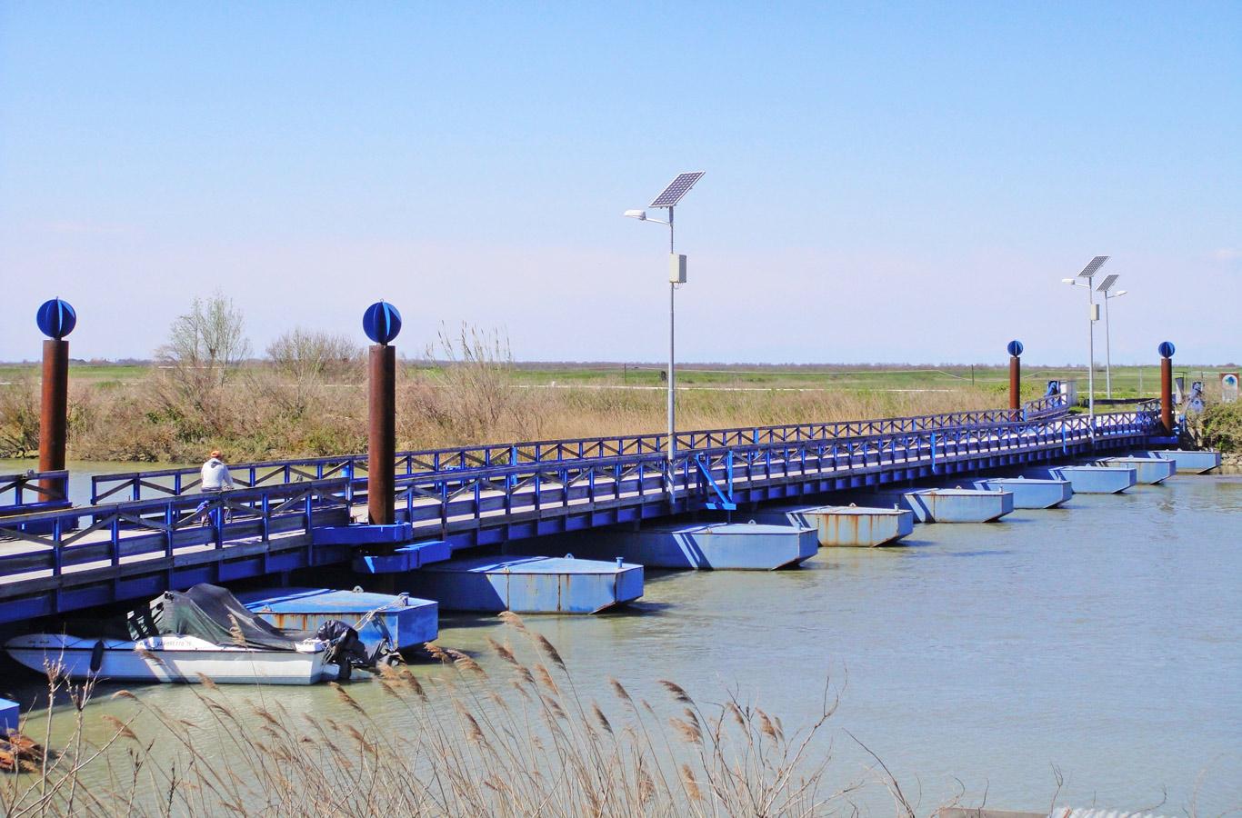 Delta del Po ponte di barche