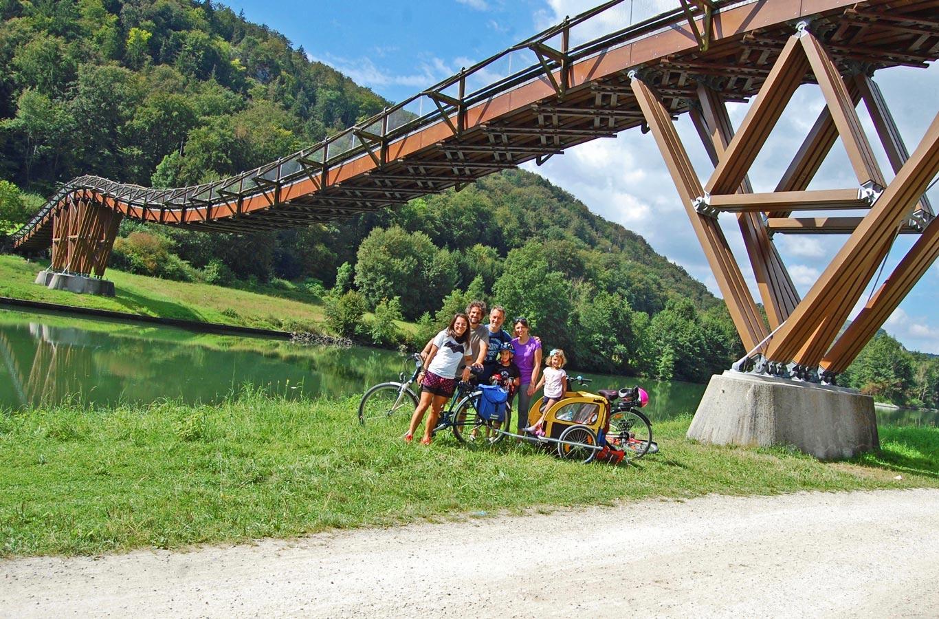 Ponte ciclabile Altmuehl Essing