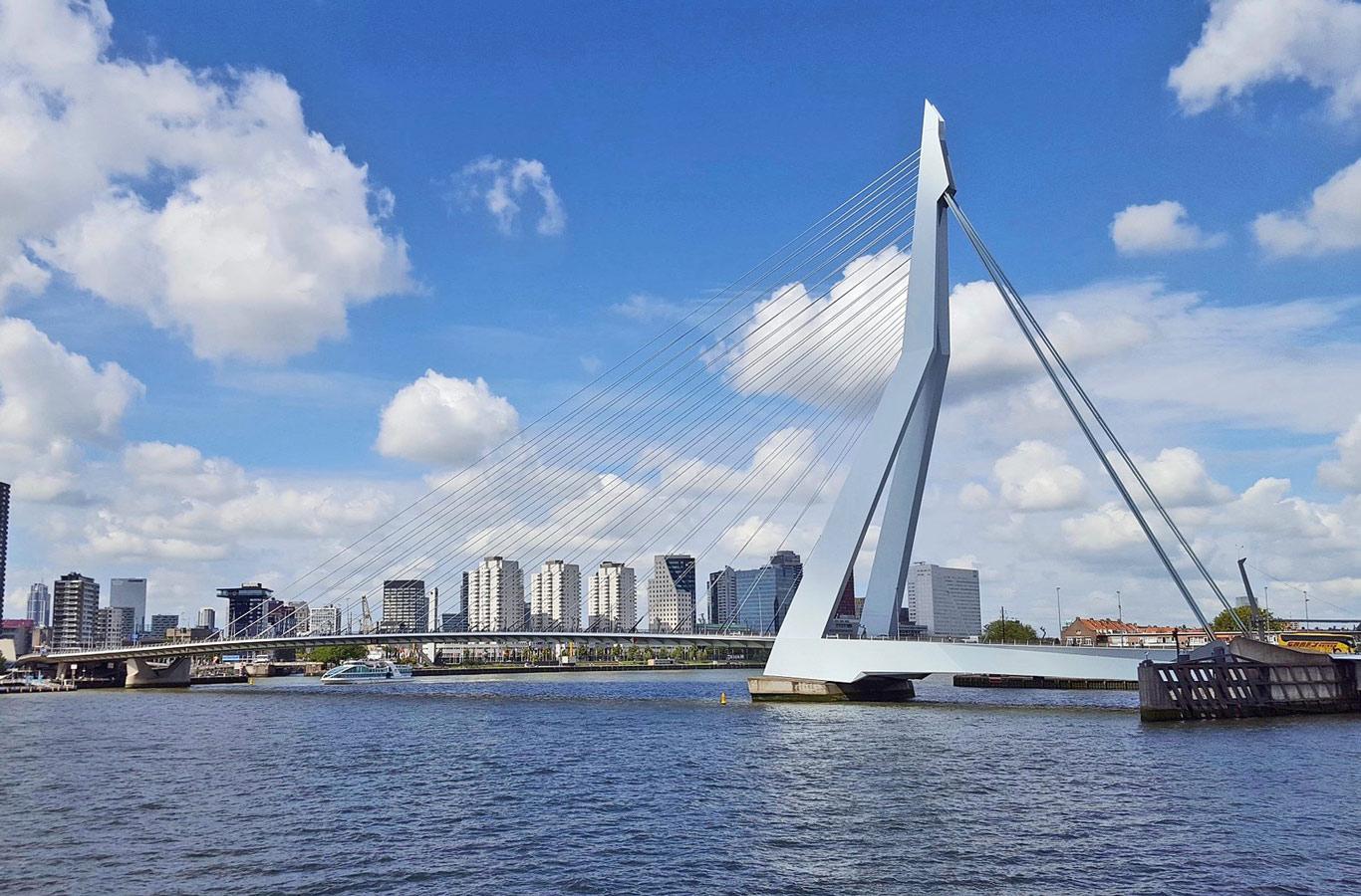 Rotterdam ponte Erasmusbrug