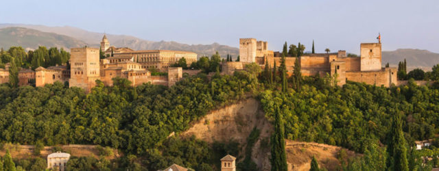 L'Alhambra vista dal Mirador de San Nicola