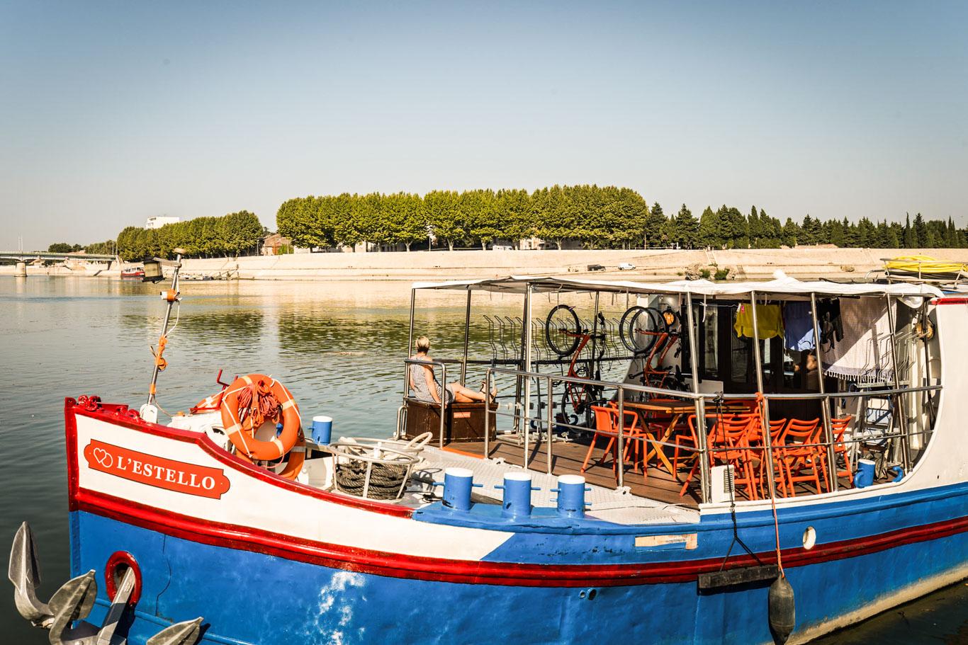 Provenza: barca l'Estello