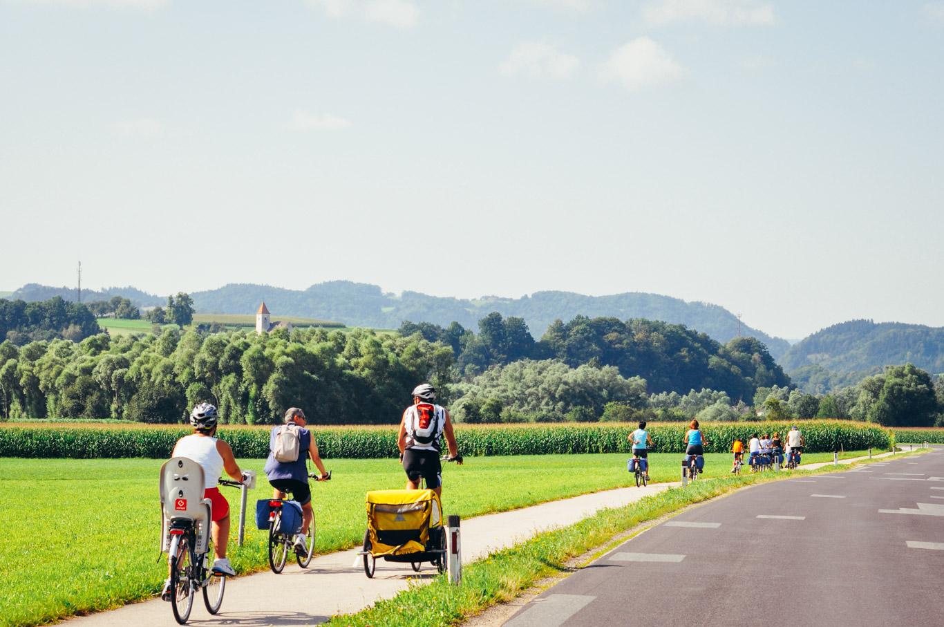 viaggi in bici con i figli