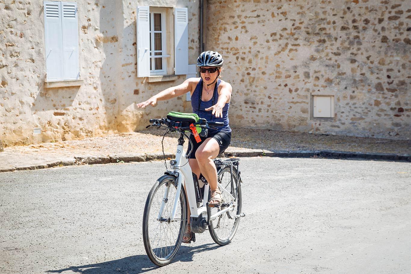 pedalare in sicurezza