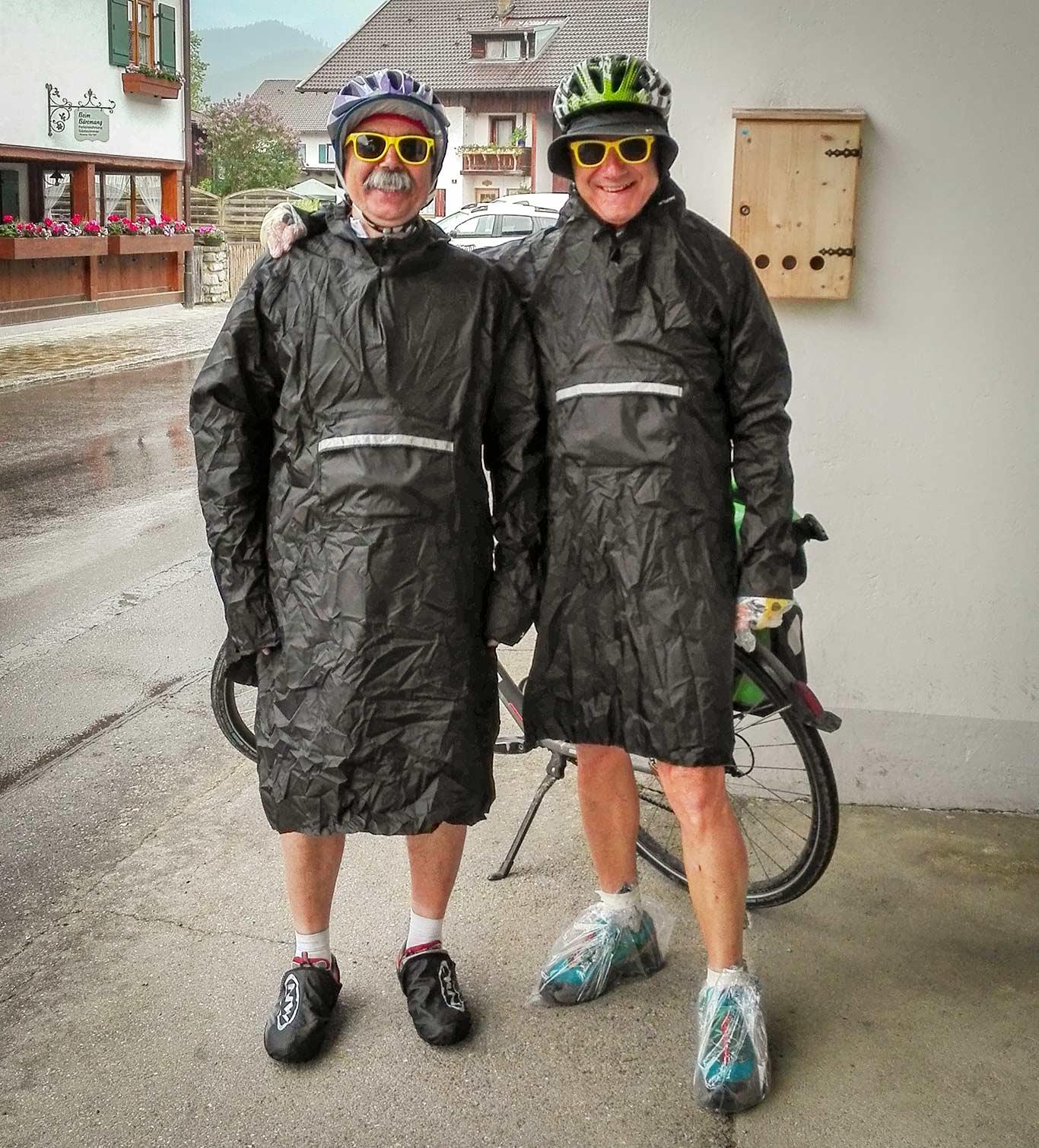 bici e pioggia